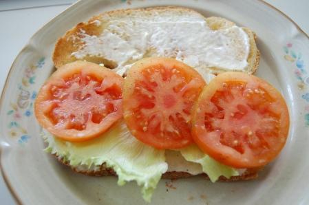 Tomatoe & Lettuce Sandwich