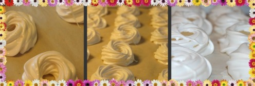 Making the Meringue Nests
